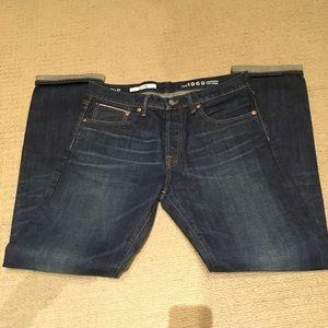 Men's GAP Japanese selvedge jeans 33x32